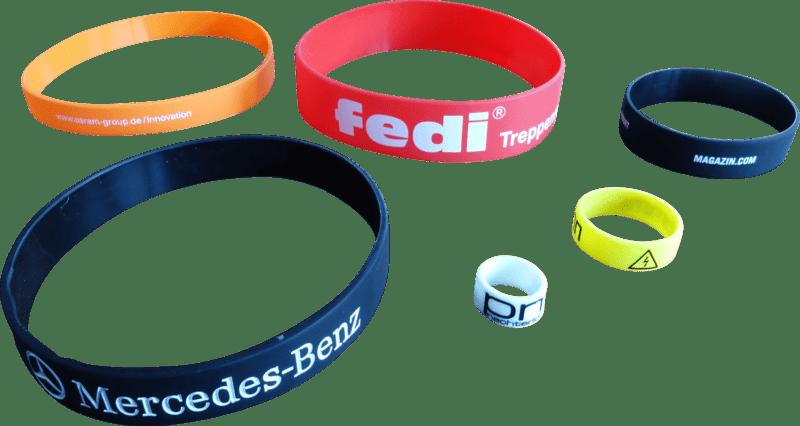 Silikonbänder für die unterschiedlichsten Verwendungen